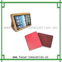 2012 hot selling leather case for IPad with stand