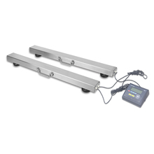 3000KG lifting handle portable truck axle load scale electronic cattle weighing scales