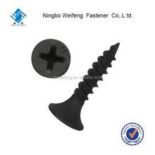 HAIYAN bugle head drywall screw Phosphate Drywall Screws Black or Gray Color Phosphate Anti-Rust 3.5 4.2