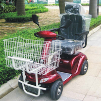 Newest electric shopping scooter with CE certificate DL24500-3S from China