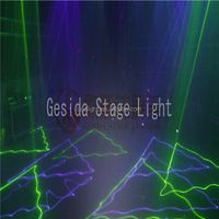 Guangzhou Professional stage Green Laser Rain Effect Light