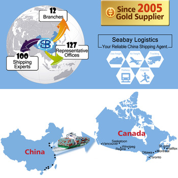 Top Alibaba sea freight shipping container from china to canada