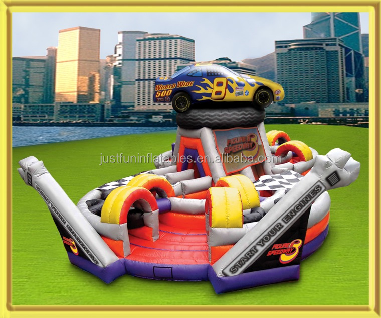 fig speedway giant inflatable obstacle course for sale