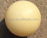 High quality 60mm PA66 Sphere Solid nylon ball for bearings