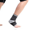 Medical Grade Breathable Compression ankle support with silicone