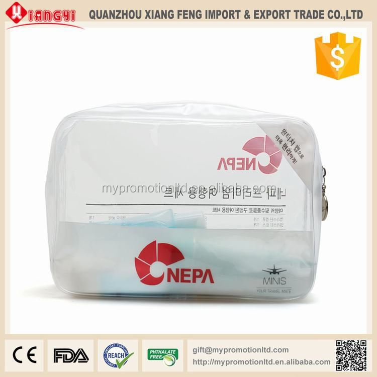 New product water resistance tpu designer toiletries bag