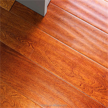 Fine Wrinkles Sunset Red Solid Parquet Hard Wood Composite Floor Made in China Wood Tiling Products