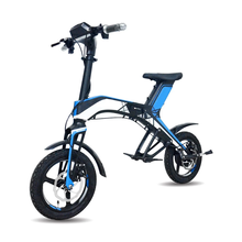 2018 New fashionable stylish folding electric bike with hidden battery