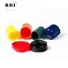 20mm--150mm pvc pipe end cap,round black plastic end caps for pipes,threaded tube end covers