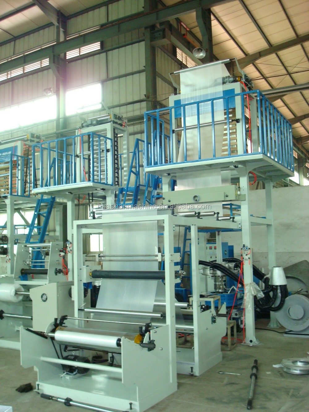 Film Application and PE Plastic Processed plastic film blowing machine price
