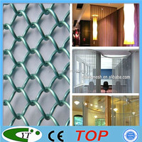 Beauty metal chain curtain wall for decoration