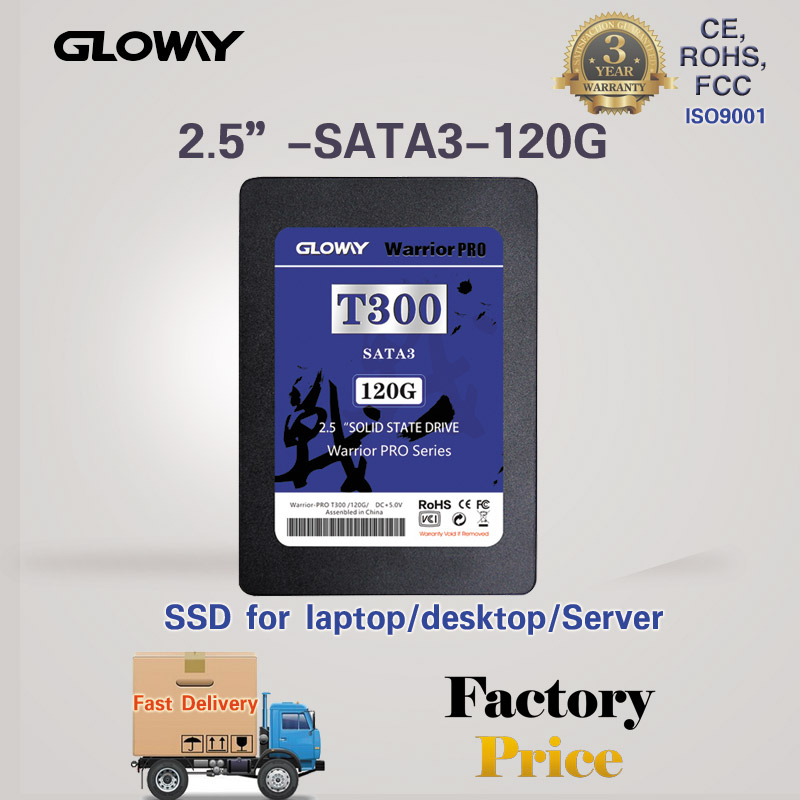 High Quality 2.5 Inch 120GB SSD SATA3 MLC Solid State Hard Drive