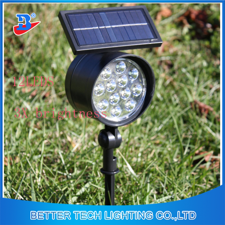 2016 new manufacturer china spot lights led garden lamp solar spot lights in garden outside or pathway