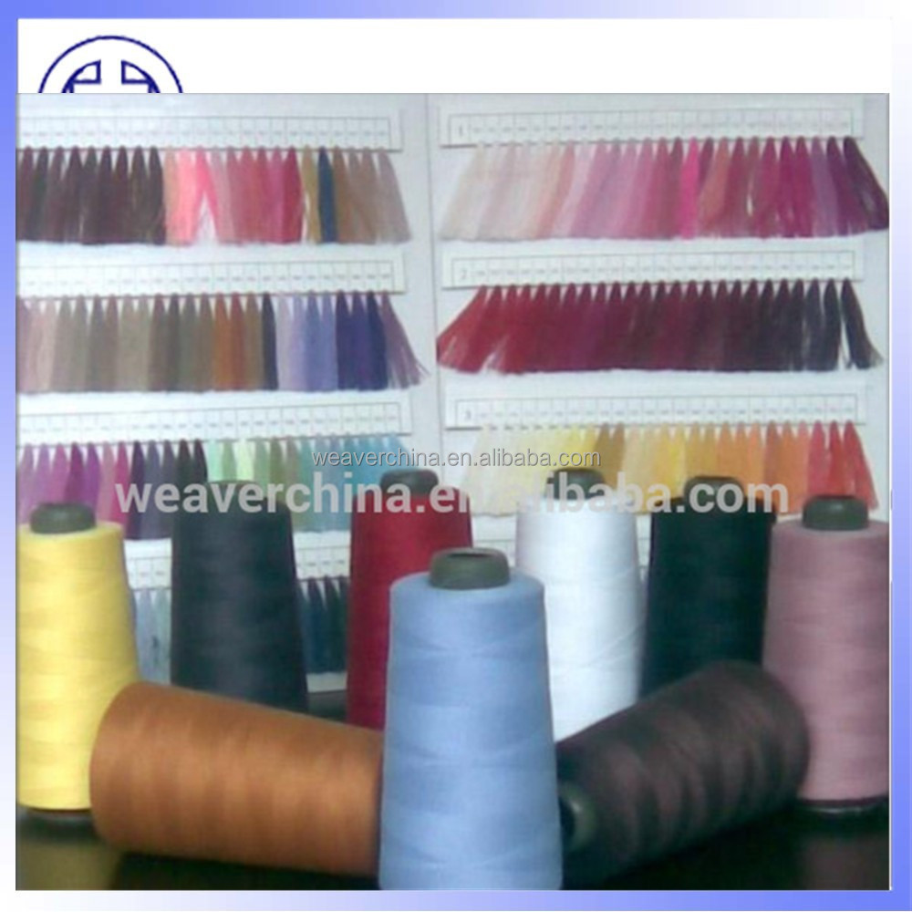 polyester sewing thread color card