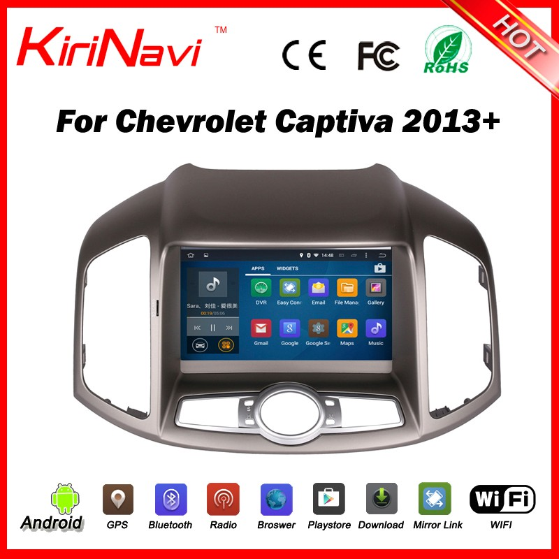 Kirinavi WC-CC8067 android 5.1 car multimedia for chevrolet captiva 2012 - 2016 dvd gps navigation car audio android wifi 3g