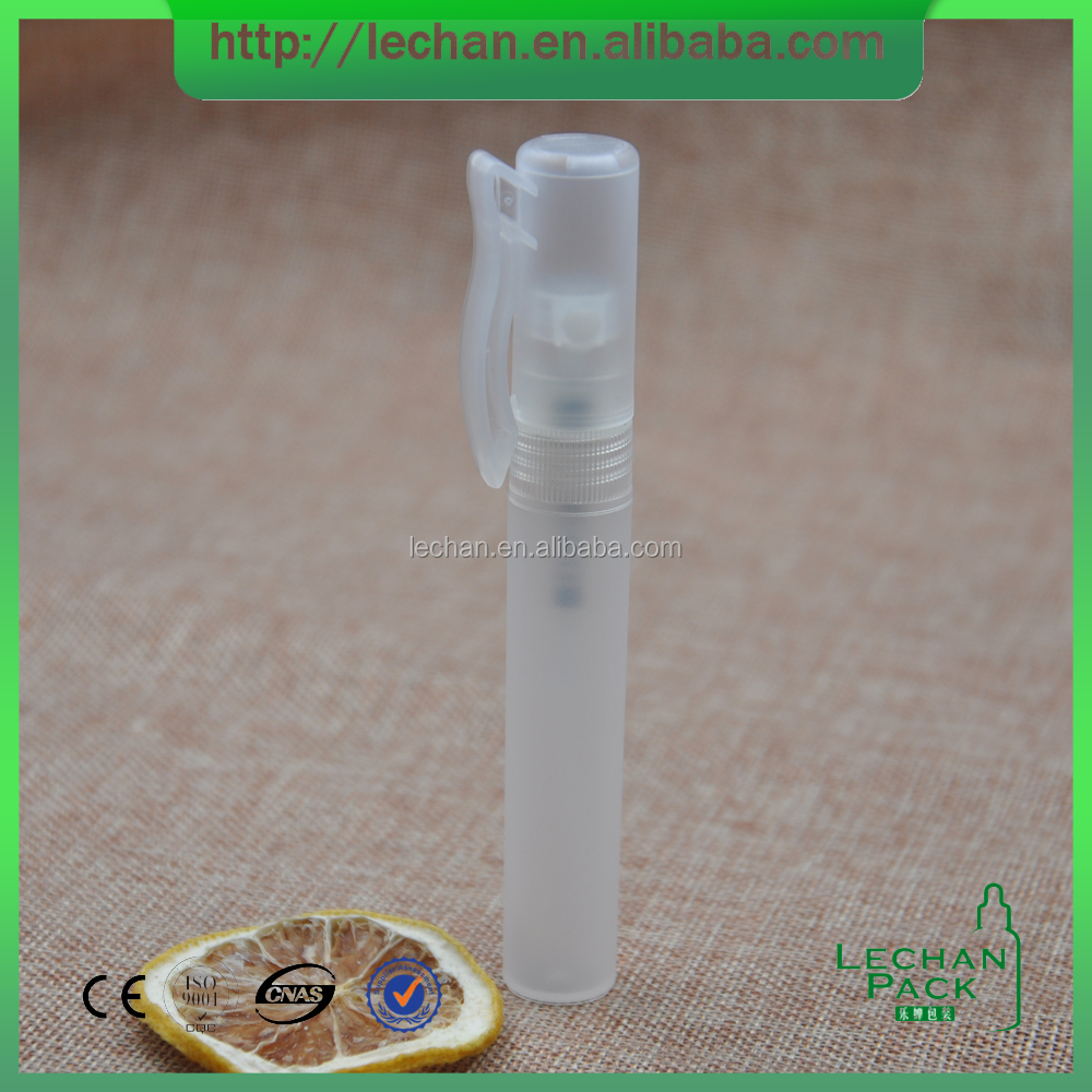 small volume pen shape plastic spray fragrance bottle for prefume