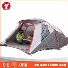 Inflatable tent trailer canvas military outdoor glamping event bech camping tent for kids and adults
