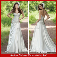 WD-1358 Sexy deep plunging sweetheart neckline sexy pakistani bridal dress maxi dress