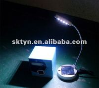 Small solar powered led cordless study table lamp for student use L01