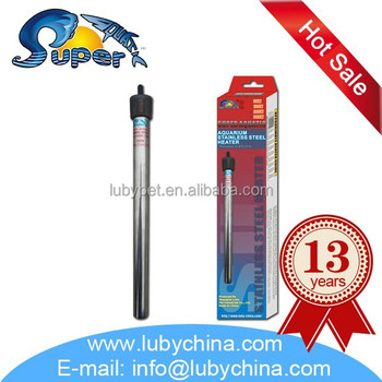Super Aquatic AST Series stainless steel aquarium heater, with good quality
