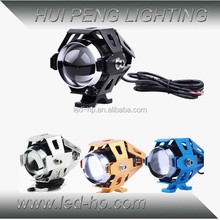 Wholesale motorcycle parts 3000LM super white DC 12-80V led motorcycle spotlight
