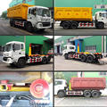 Dongfeng 18 CBM hydraulic arm garbage truck