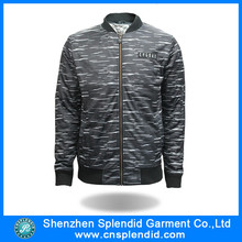 Custom winter fashion hip hop men quilted jacket