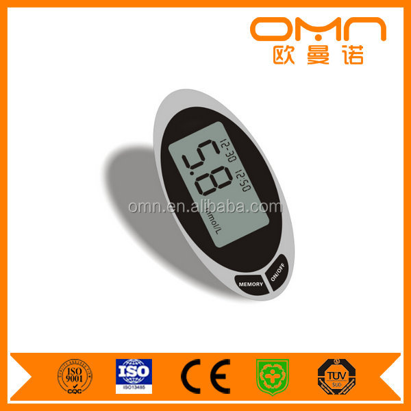 Best glucose testers diabetic testing device OEM medical gluco meter blood sugar checker with free test strips