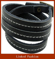 Alibaba China Top Brand leather bracelet