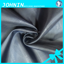 high quality best price 100% polyester woven taffeta 180T embossed taffeta yarn dye fabric