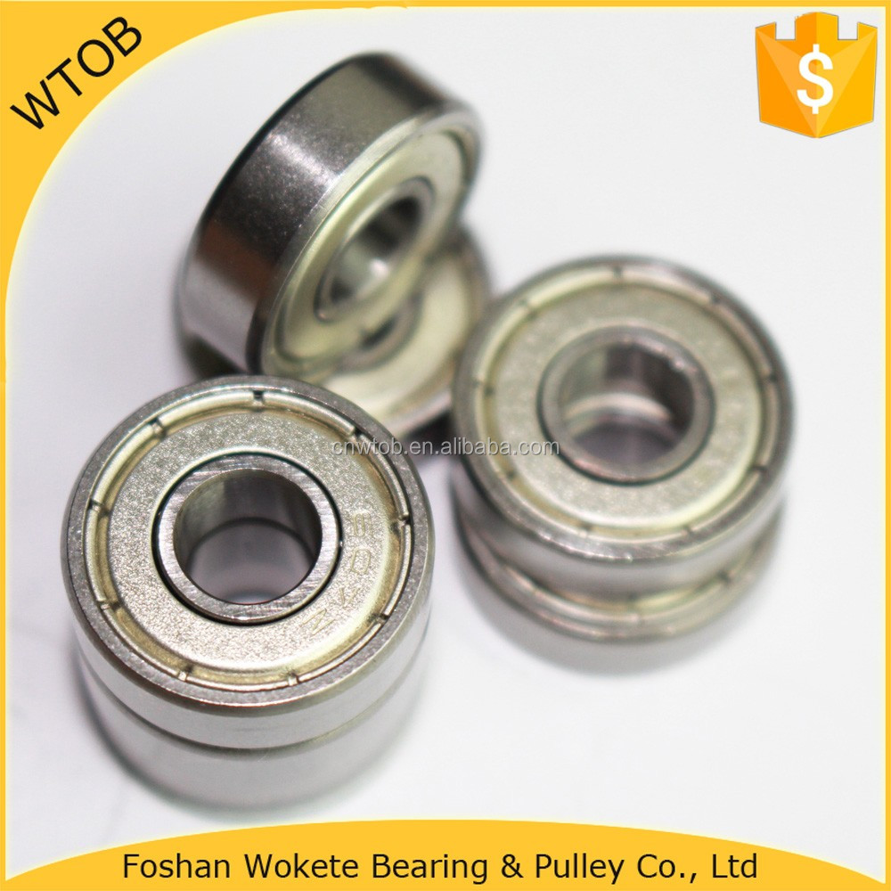 China Direct Supplier Chrome Steel Ball Bearing 607 608 609 For Exercise Bike Bearing