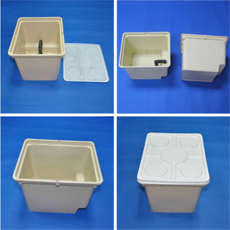 Factory wholesale cheap hydroponic bato bucket for strawberry planting