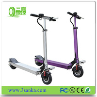 colorful newest long range foldable electric trike scooter