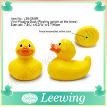 Multicolor Race Small and Floating Large Plastic Duck