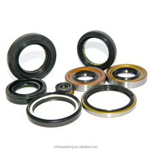ID 28 - 30mm TC Double Lip Rubber Rotary Shaft Oil Seal with Spring
