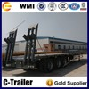 Chinese 60T low bed truck trailer air bag suspension