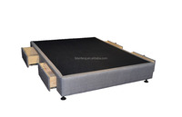 Drawer Bed Base, Drawer Storage Base, Wooden Double Bed with Drawers