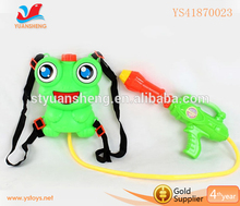 Promotional toy backpack water gun with tank new Summer toy water gun