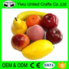 2016 China supplier realistic artificial fruit large for home decoration