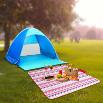 2016 Foldable Picnic Camping Mat Travel Picnic Mat Waterproof Beach Mat Outdoor Floor Blanket Waterproof Picnic Pocket Blanket