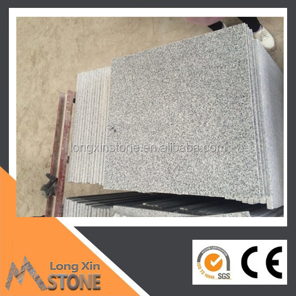 China grey granite G603 Flamed 600X300 MM