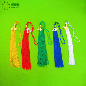 Hot sale! Polyester thread tassel,colorful ancient national small tassel