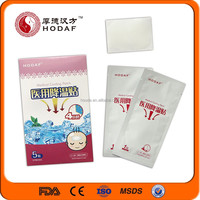 Blue Hydrogel Cooling Gel Patch for Curing Adults Kid Headache