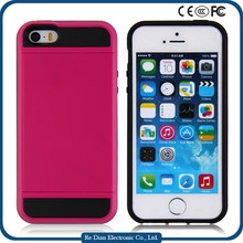 Multi Colors Hybrid TPU+PC Mobile Phone Hard Case Back Cover for iPhone 5