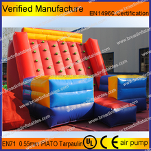 inflatable mountain,artificial climbing wall, hold climbing