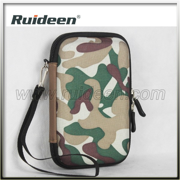 Custom Logo Camouflage EVA Case Hard Case Zipper Case for Outdoor Sport