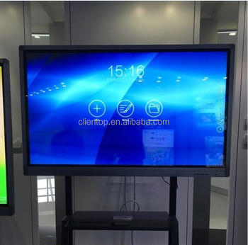 "55"" Touch screen optional i3/i5/android smart lcd tv use as AIO digital interactive whiteboard"
