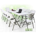 HL-Z240 8 feet tables/ plastic party table/ plastic table set