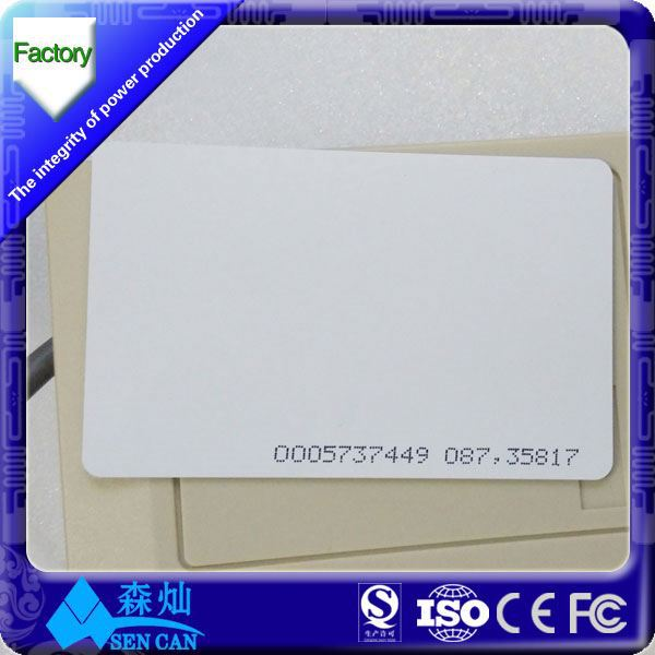 for animals tracking 125khz em4100 em4305 card