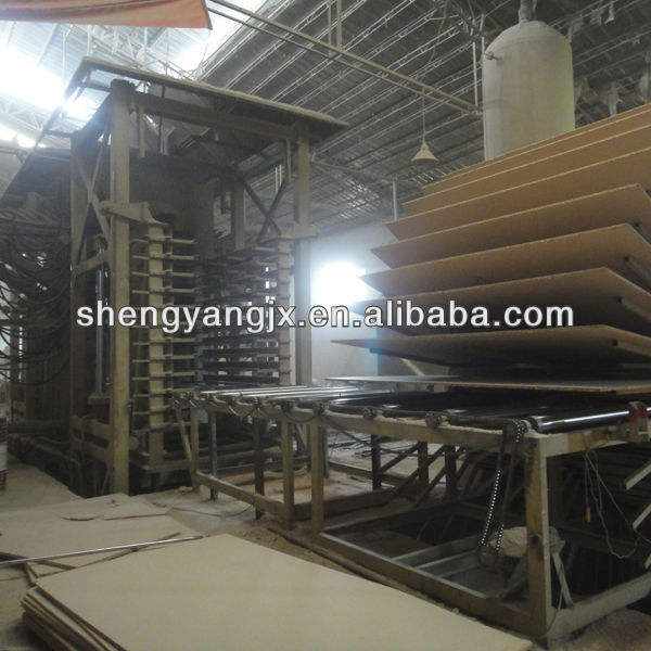 small multipurpose combination melamine faced laminated woodworking chipboard particleboard,used chipboard machinery for sale